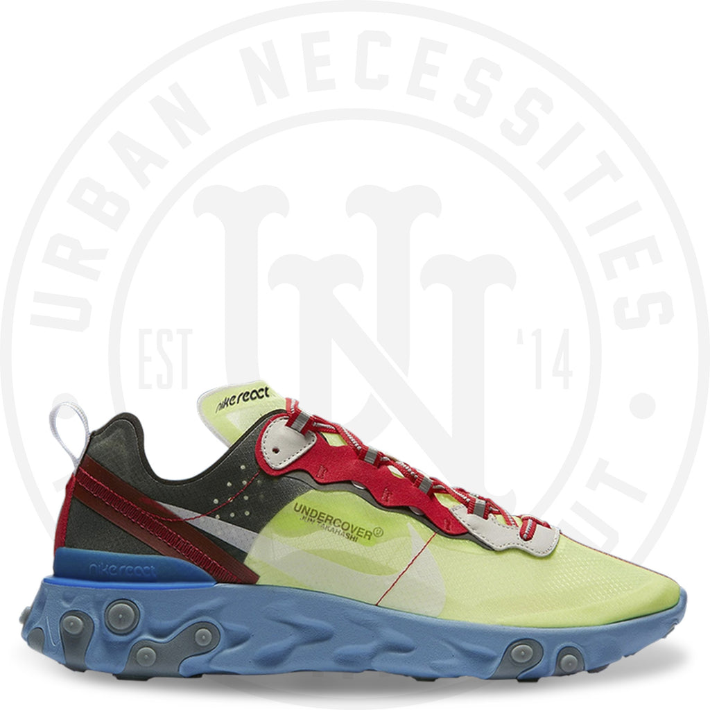 Nike React Element 87 Undercover Volt - BQ2718 700-Urban Necessities