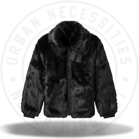 Nike x Ambush Women's Reversible Faux Fur Coat Black/Sail-Urban Necessities