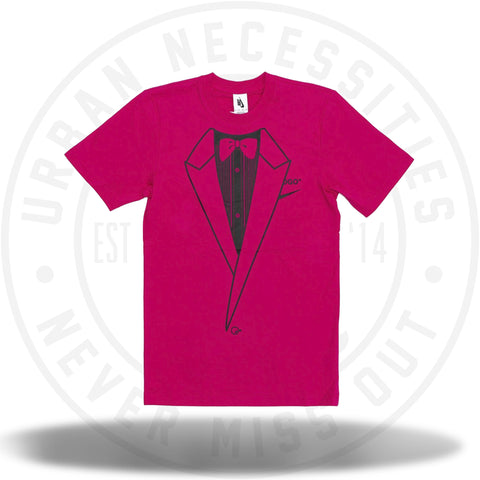 OFF-WHITE x Nike NRG A6 Tee Pink Rush/Black Tee-Urban Necessities