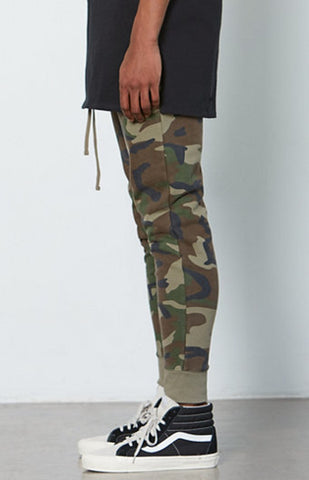 Pacsun FOG Fear of God Drawstring Sweatpants Camo-Urban Necessities