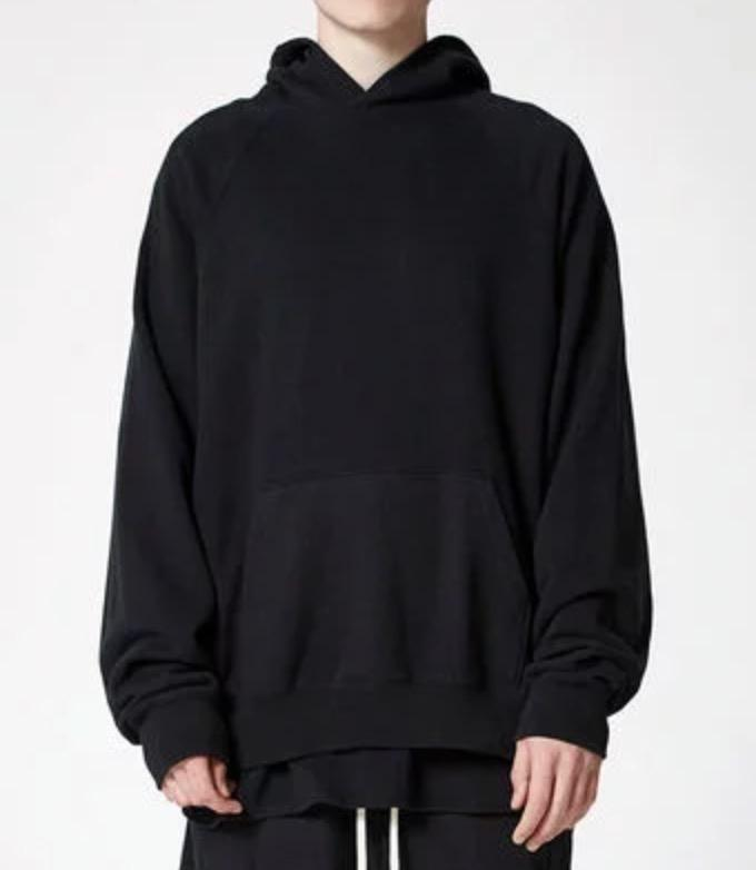 Pacsun x FOG Fear Of God Essentials Pullover Hoodie Black-Urban Necessities