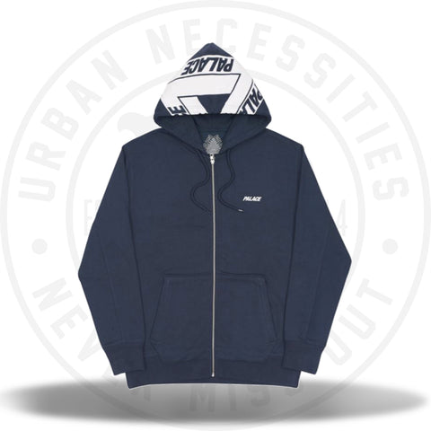 Palace Big Tri-Ferg Zip Hood Navy-Urban Necessities