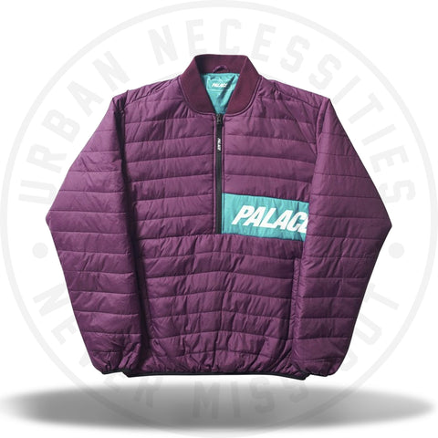 Palace Half Zip Packer Blueberry Teal-Urban Necessities