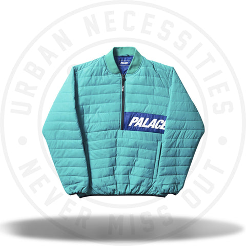 Palace Half Zip Packer Teal Blue-Urban Necessities