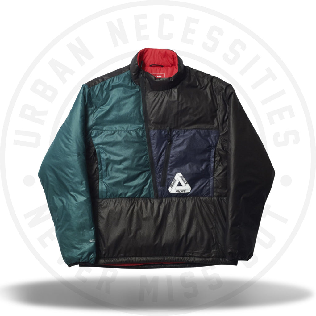 Palace P-Tex Pertex Liner Black/Green/Navy-Urban Necessities
