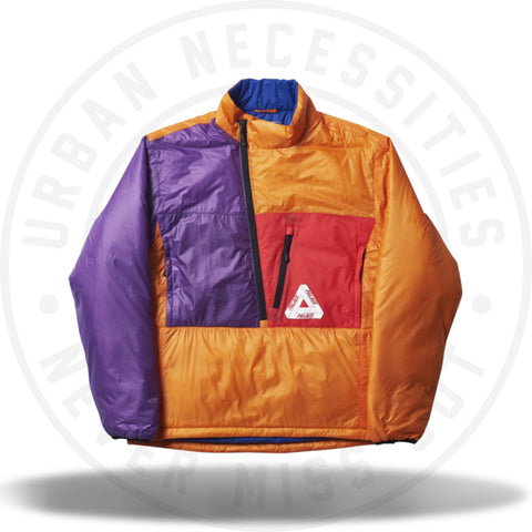 Palace P-Tex Pertex Liner Orange/Purple/Hibiscus-Urban Necessities