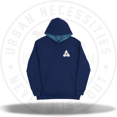 Palace Reverso Hood Navy/Teal-Urban Necessities
