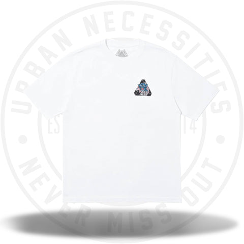 Palace Ripped T-Shirt White-Urban Necessities