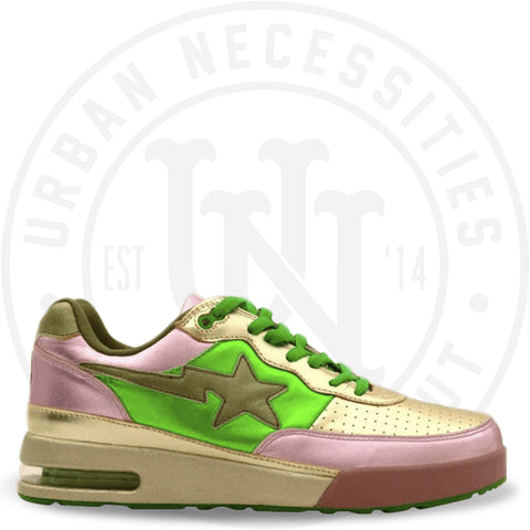 Pharrell x Roadsta FS-034 Low 'Yellow Green' - 905-Urban Necessities