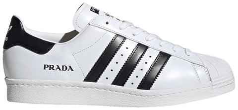 Prada x Superstar 'Core White' - FW6680-Urban Necessities