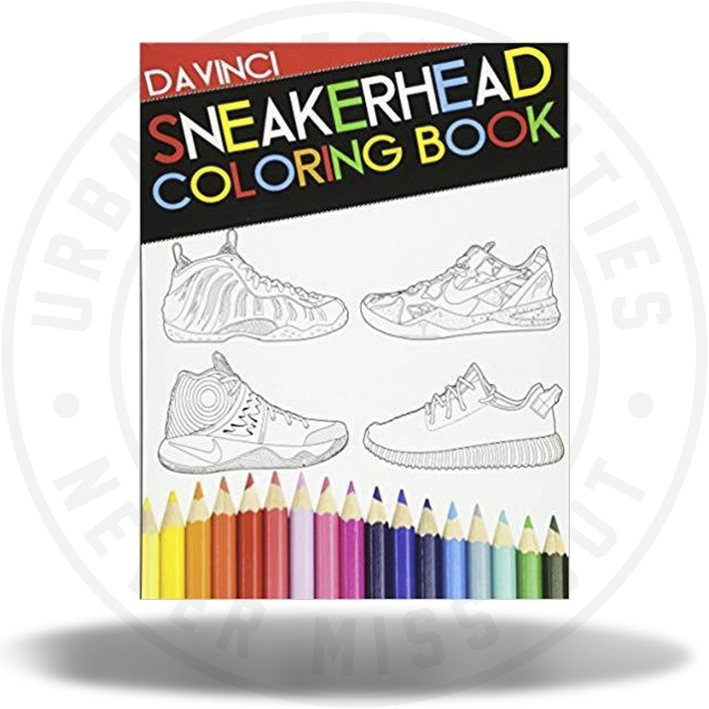 Sneakerhead Coloring book-Urban Necessities