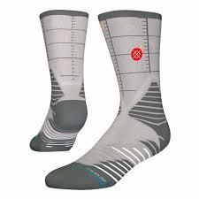 Stance Basketball Socks Heat Check USA Grey-Urban Necessities
