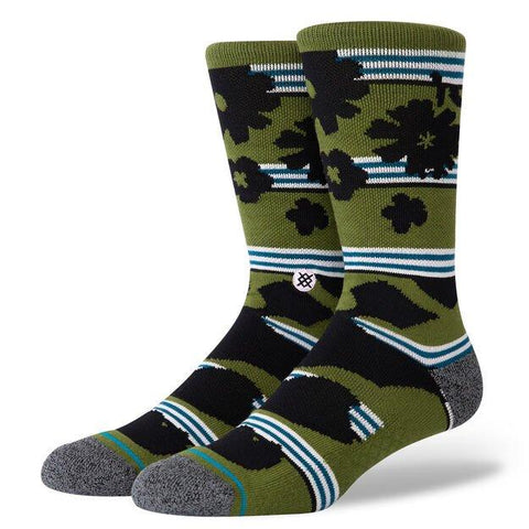 Stance Casual Socks Berner Green-Urban Necessities