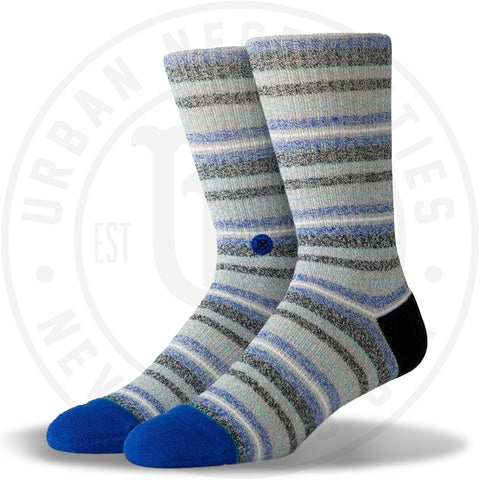 Stance Classic Crew Socks Byron Bay Black-Urban Necessities