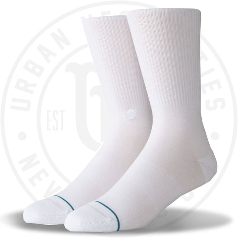 Stance Classic Crew Socks Fashion Icon 2 White-Urban Necessities