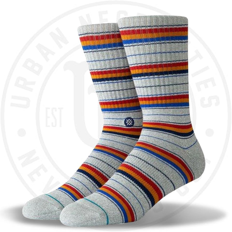 Stance Classic Crew Socks Franklin Heather Grey-Urban Necessities