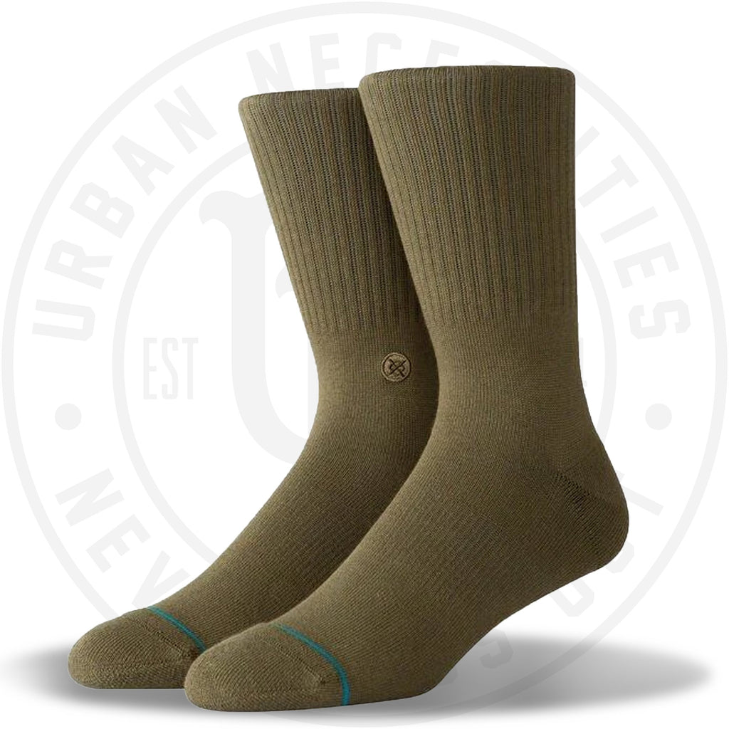 Stance Classic Crew Socks Icon Army-Urban Necessities