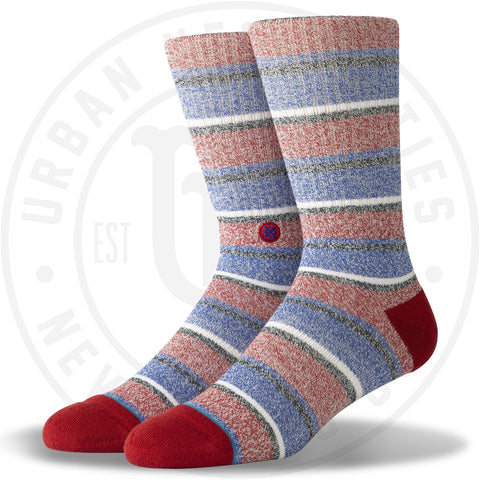 Stance Classic Crew Socks Noosa Red-Urban Necessities