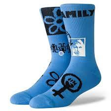 Stance Classic Crew Socks Rebel Blue-Urban Necessities