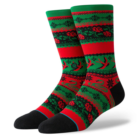 Stance Classic Crew Socks Stocking Stuffer Crew Green-Urban Necessities