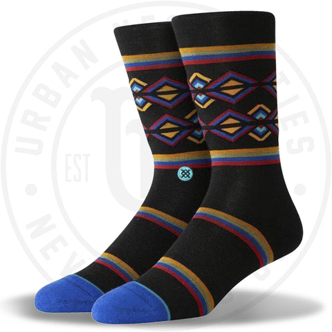 Stance Classic Crew Wool Socks Harvey Black-Urban Necessities