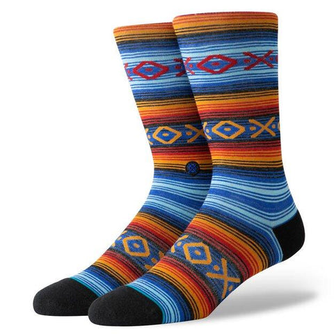 Stance Classic Crew Wool Socks Slap Stick Royal-Urban Necessities