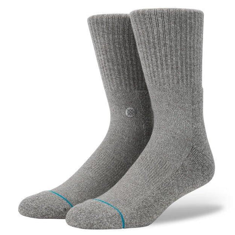 Stance Grey Classic Crew Icon 3 Pack-Urban Necessities