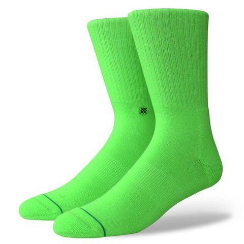Stance ICON ANTHEM Fluorescent Green-Urban Necessities