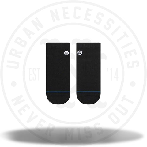 Stance Low Socks Icon Low M Black/White-Urban Necessities
