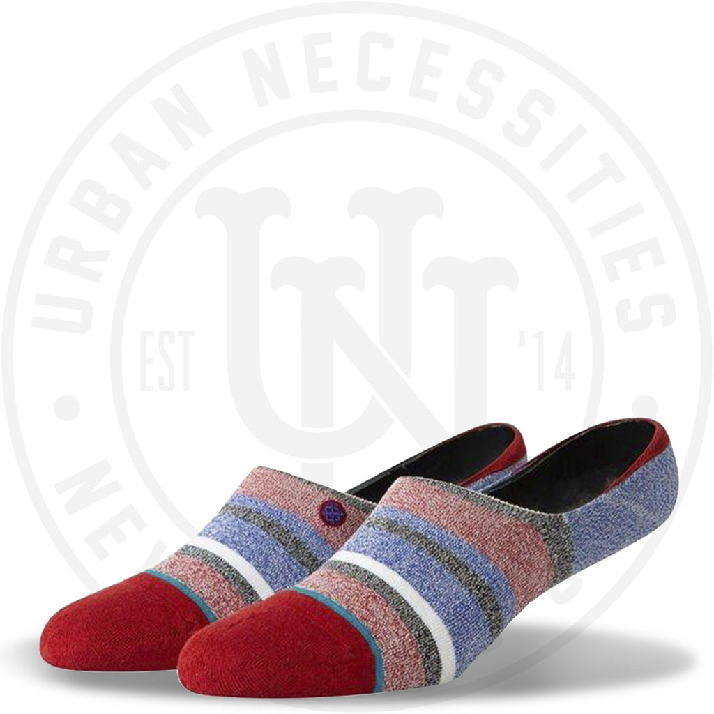 Stance No Show Socks Noosa Invisible Red-Urban Necessities
