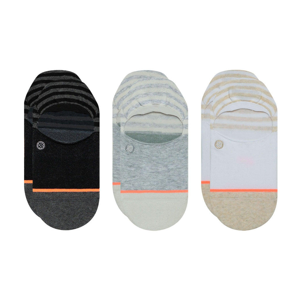 Stance No Show Socks Sensible 3 Pack Multi-Urban Necessities