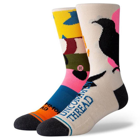 Stance Rebirth Socks Tan-Urban Necessities