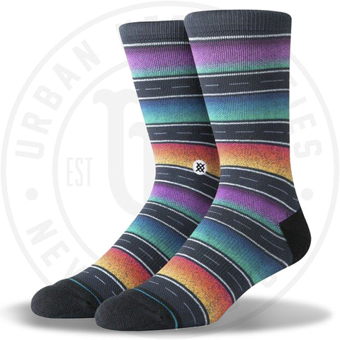 Stance Socks Sierras Black-Urban Necessities