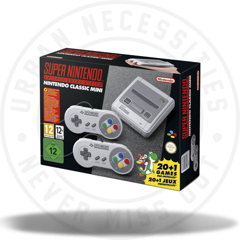 Super Nintendo Entertainment System SNES 2017-Urban Necessities