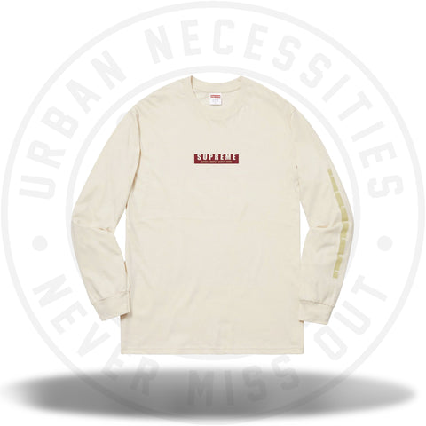 Supreme 1994 LS Tee Natural-Urban Necessities