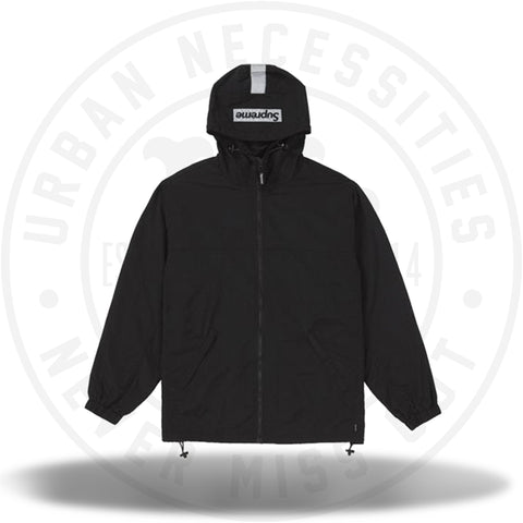 Supreme 2-Tone Zip Up Jacket Black-Urban Necessities