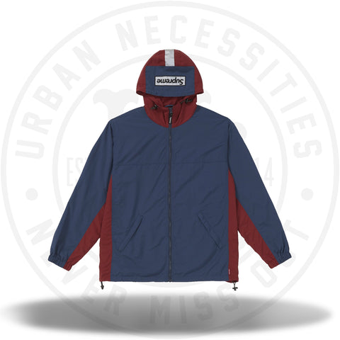 Supreme 2-Tone Zip Up Jacket Navy-Urban Necessities