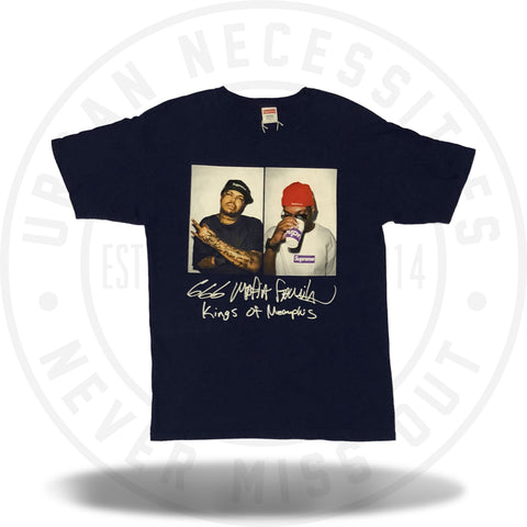 Supreme 3 6 Mafia Tee Navy-Urban Necessities