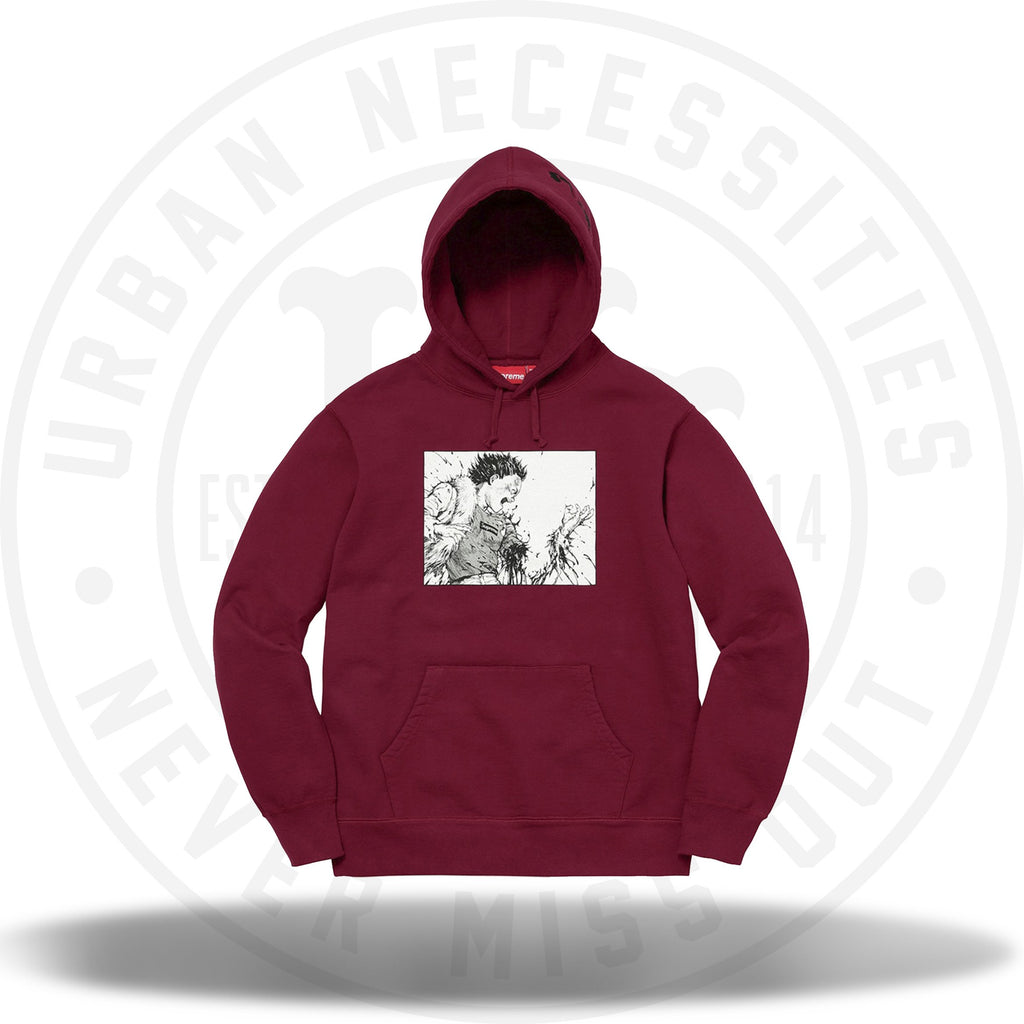 Supreme Akira Arm Hooded Sweatshirt Cardinal-Urban Necessities