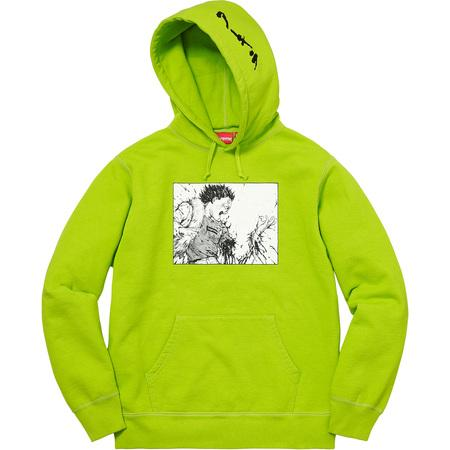 Supreme Akira Arm Hooded Sweatshirt Lime-Urban Necessities