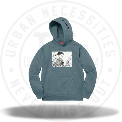 Supreme Akira Arm Hooded Sweatshirt Slate-Urban Necessities