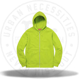Supreme Akira Syringe Zip Up Sweatshirt Lime-Urban Necessities