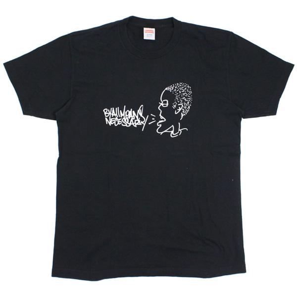 Supreme All Means Tee Black-Urban Necessities