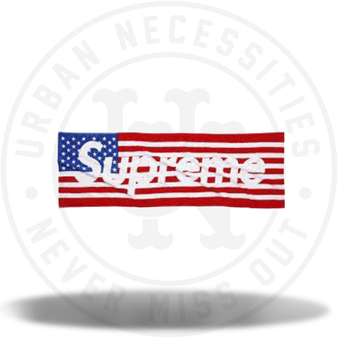Supreme American Flag Towel-Urban Necessities
