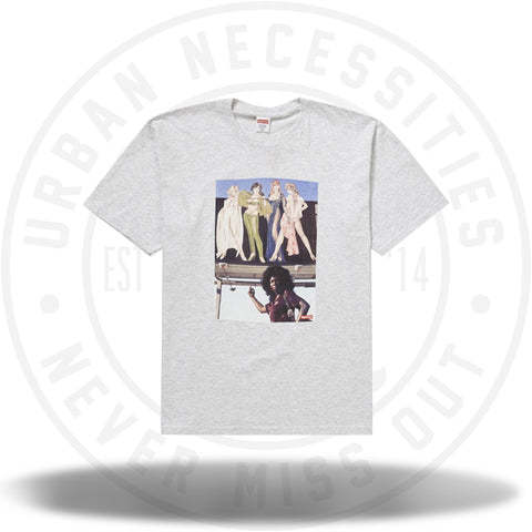 Supreme American Picture Tee Ash Grey-Urban Necessities