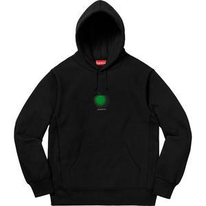 Supreme Apple Hooded Sweatshirt Black-Urban Necessities