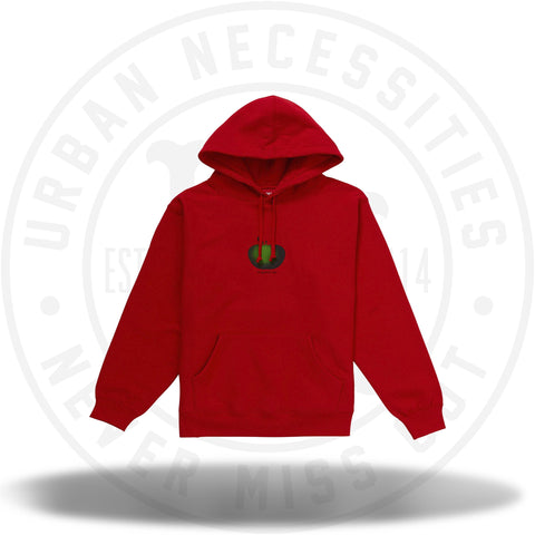 Supreme Apple Hooded Sweatshirt Red-Urban Necessities