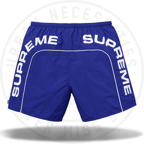 Supreme Arc Logo Water Short Royal-Urban Necessities