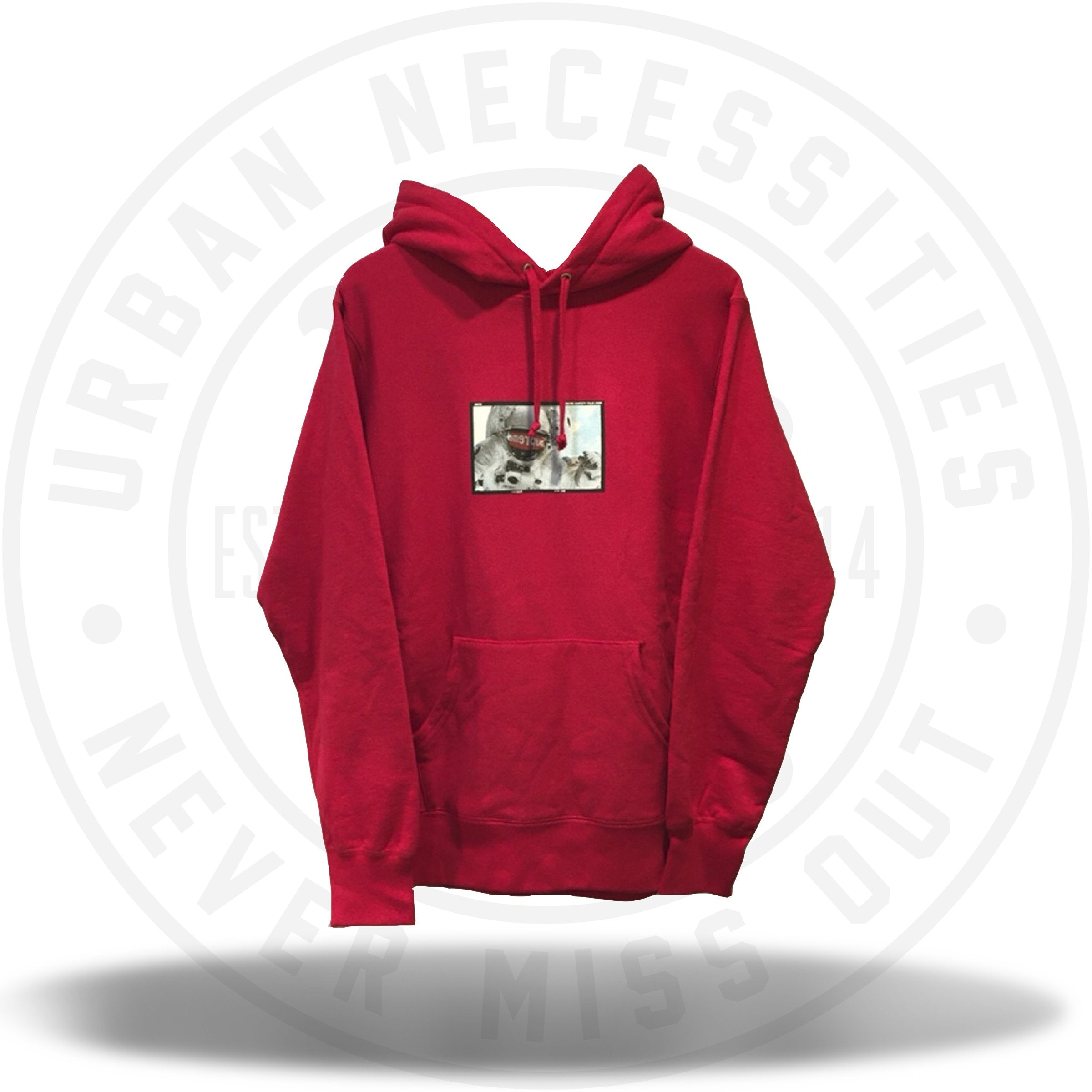 Supreme Astronaut Hooded Pullover Red