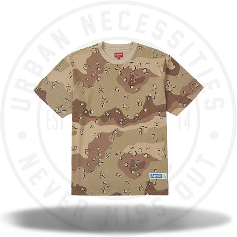 Supreme Athletic Label Tee Chocolate Chip Camo-Urban Necessities